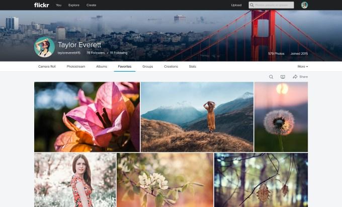 Flickr_Web_Favorites