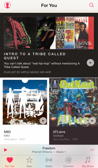 Apple Music For You