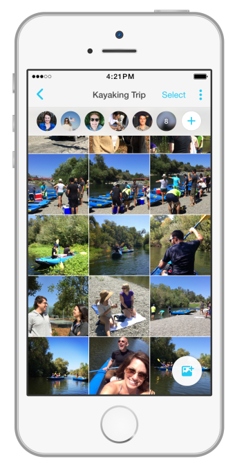 Facebook Moments Example