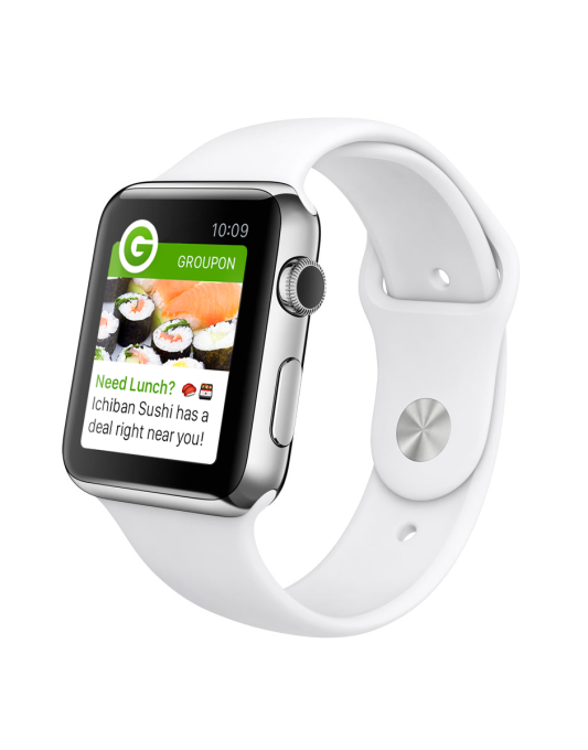 Groupon on Apple Watch