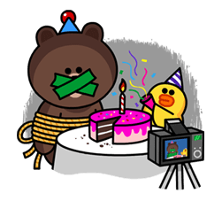 Line cake party from hell