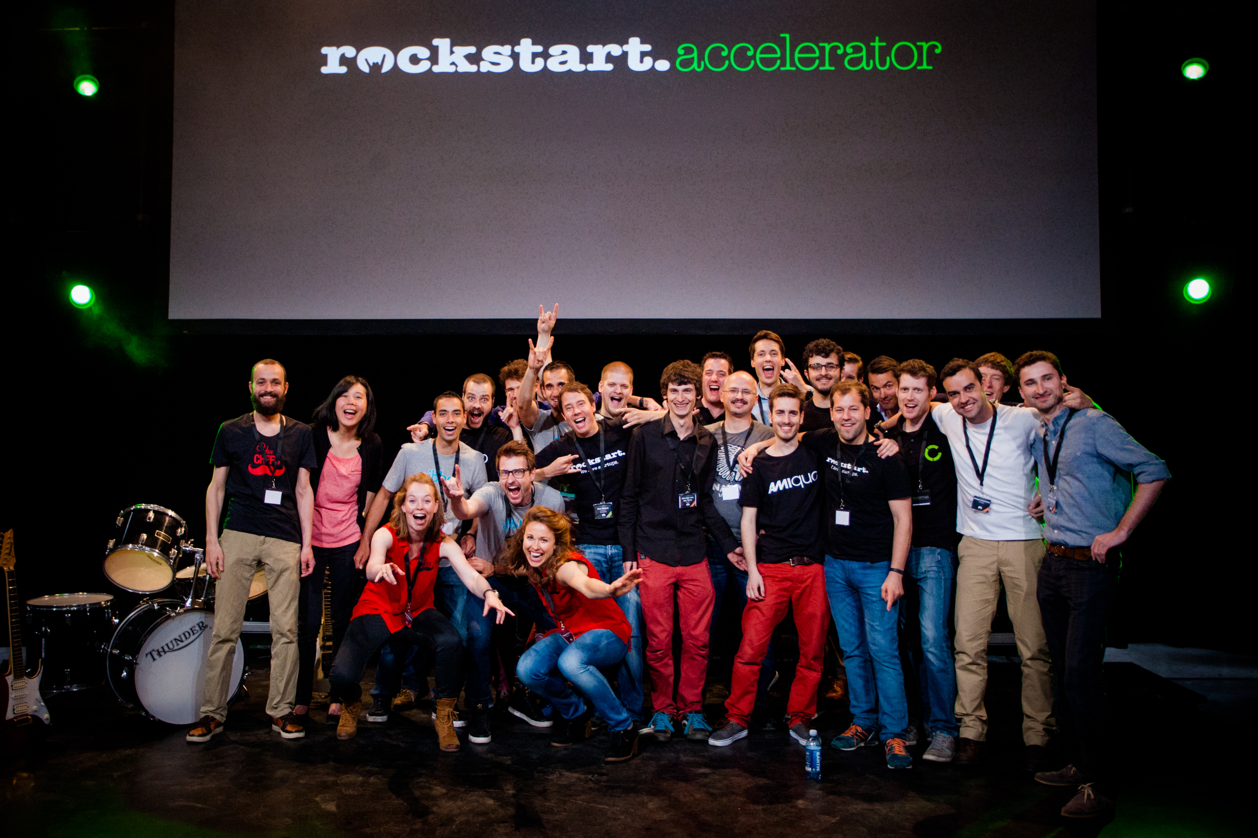 Rockstart, an accelerator that has become a center of Amsterdam's startup scene, hosts its demo day.