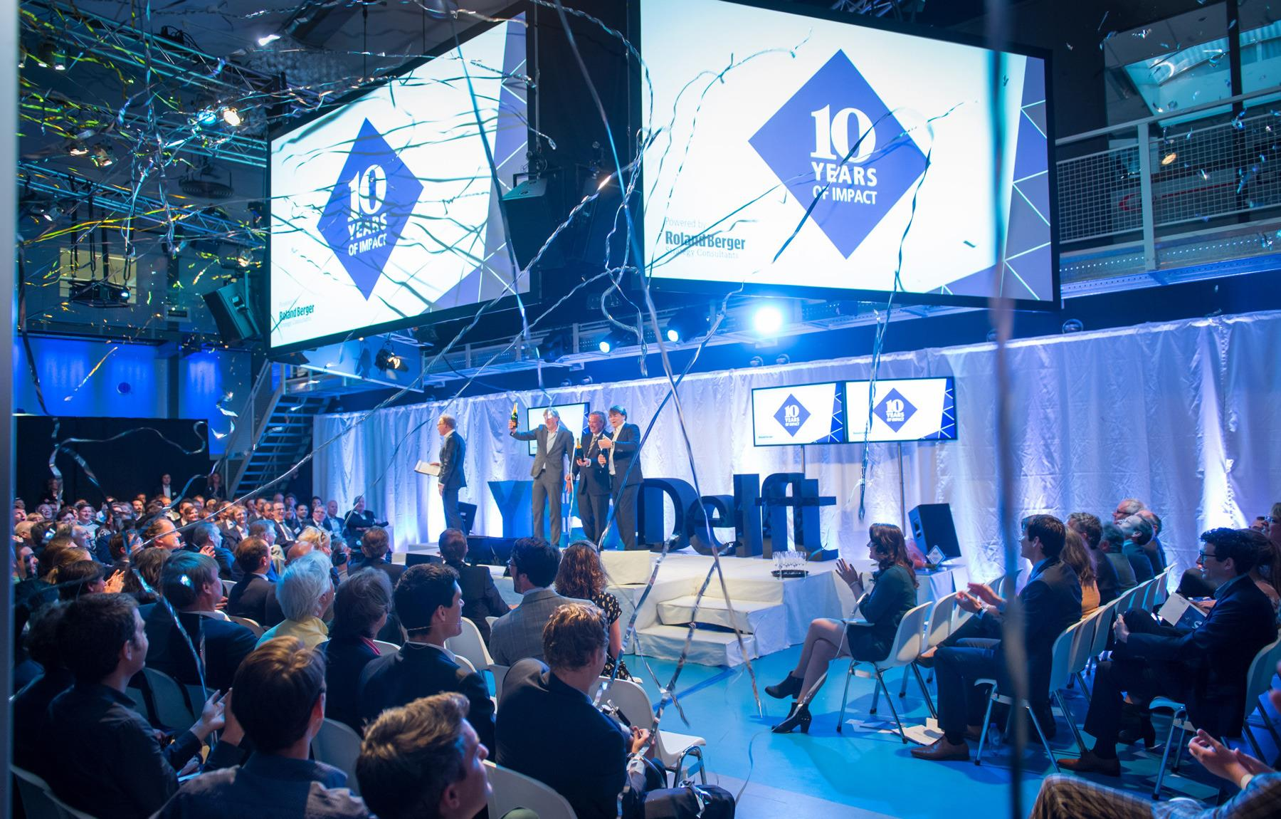 YES!Delft celebrating its 10 year anniversary.