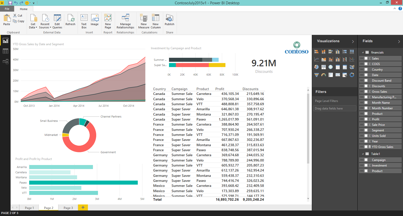 Power BI Desktop 2