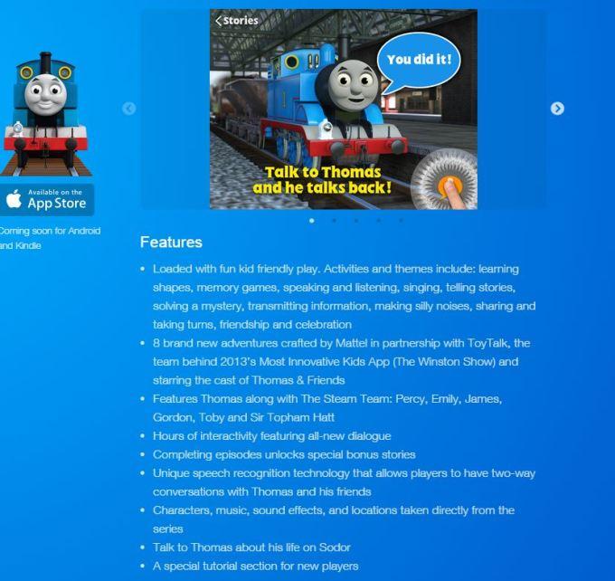 Thomas info