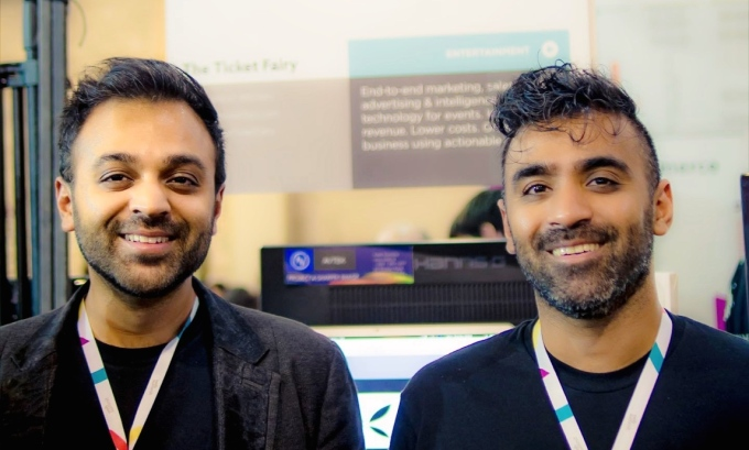 Ticket Fair co-founders Jigar and Ritesh Patel [from left]