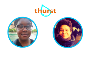 Thurst co-founders Morgen Bromell and Rosa Pergams