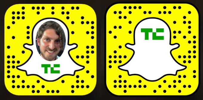 TechCrunch Snapchats
