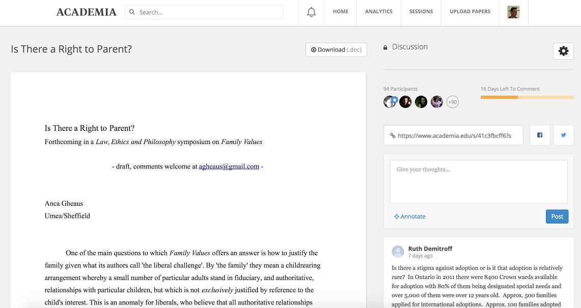academia-sessions-screenshot