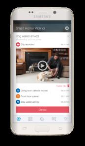 smartthings dog walker event