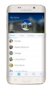 smartthings rooms