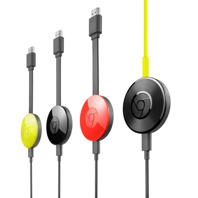 Chromecast Family with Audio