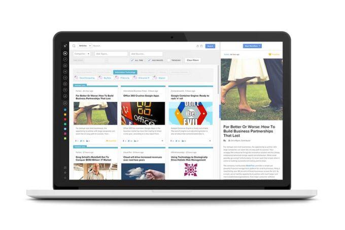 newscred screenshot