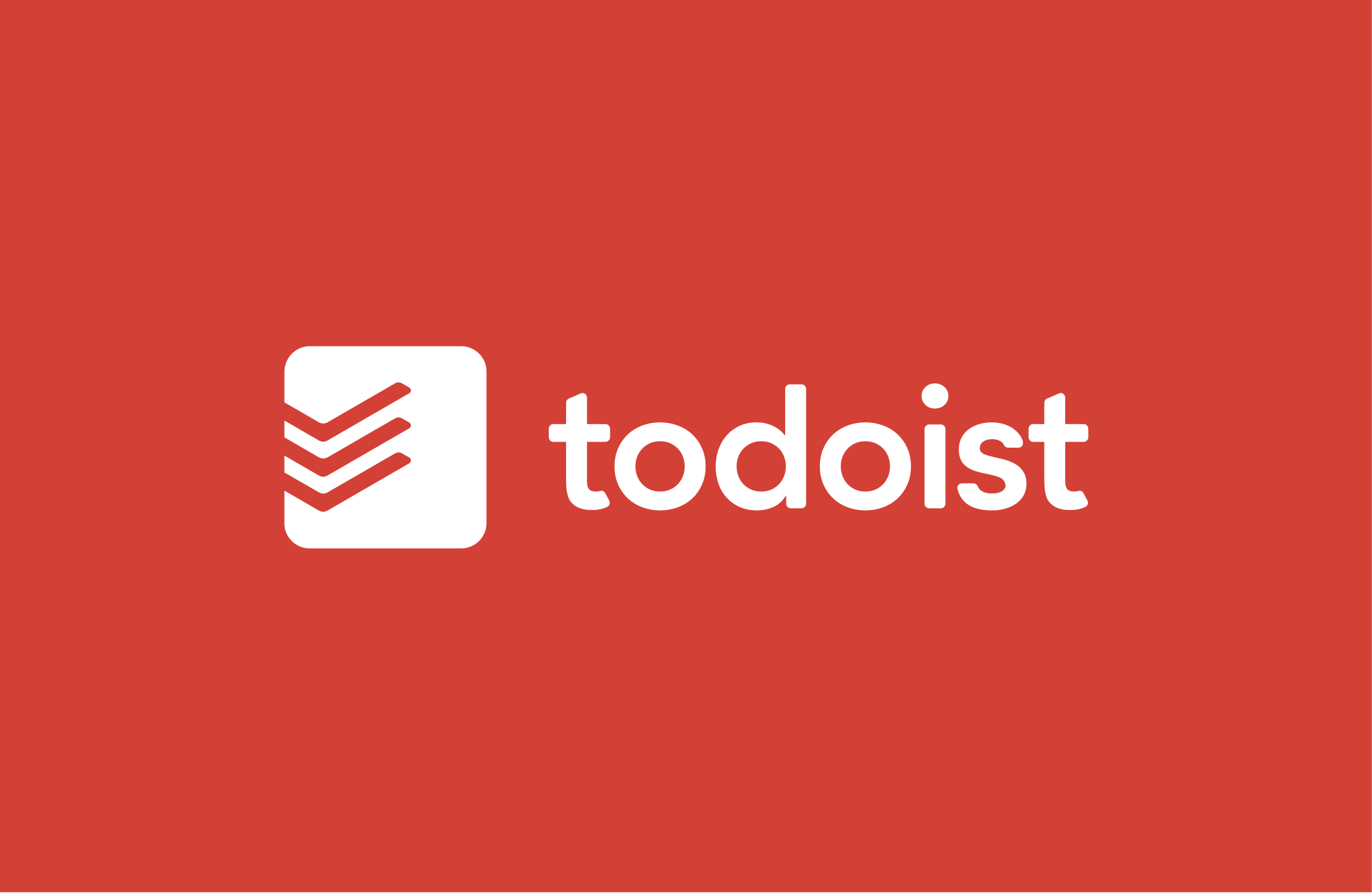 Todoist new logo red