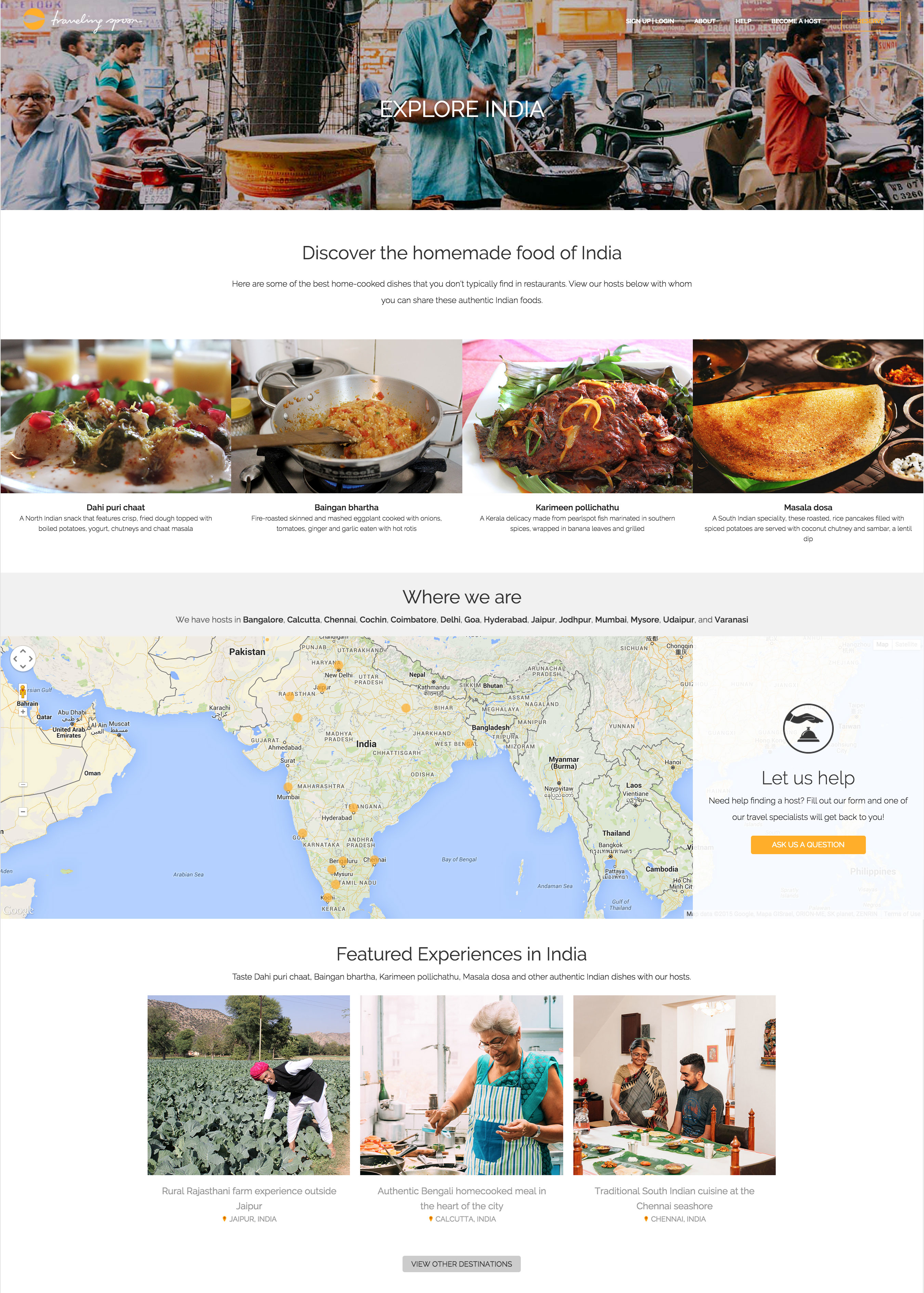TravelingSpoonCountryPageIndiaScreenshot