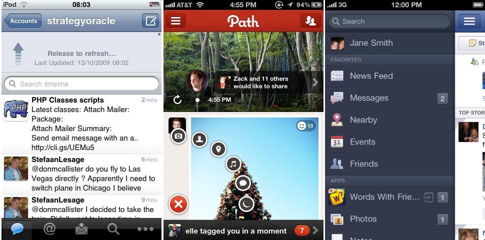 Tweetie Path Facebook
