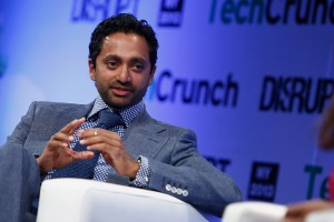 NEW YORK, NY - APRIL 29: Chamath Palihapitiya of Social+Capital Partnership speaks onstage at the TechCrunch Disrupt NY 2013 at The Manhattan Center on April 29, 2013 in New York City. (Photo by Brian Ach/Getty Images for TechCrunch) *** Local Caption *** Chamath Palihapitiya