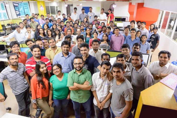 Real-estate startup Grabhouse's team