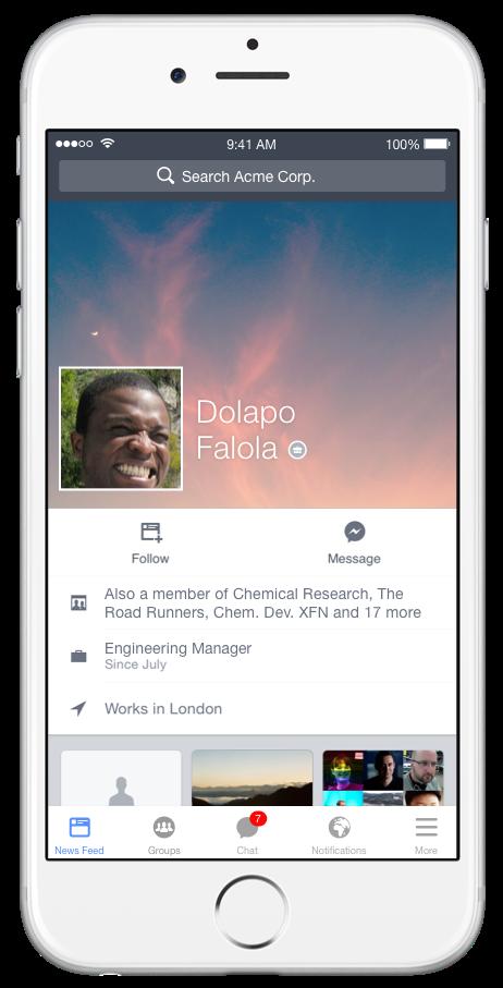 iOS Profile