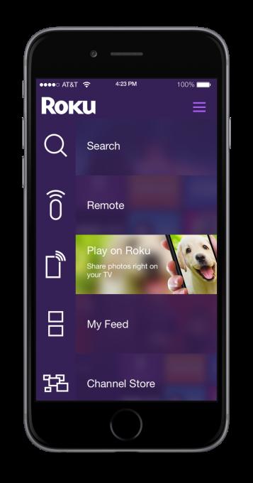 Roku Mobile App Play on Roku