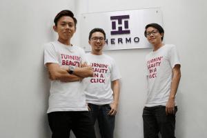 Hermo founders Ian Chua, Ian Mok, and P.S. Chong