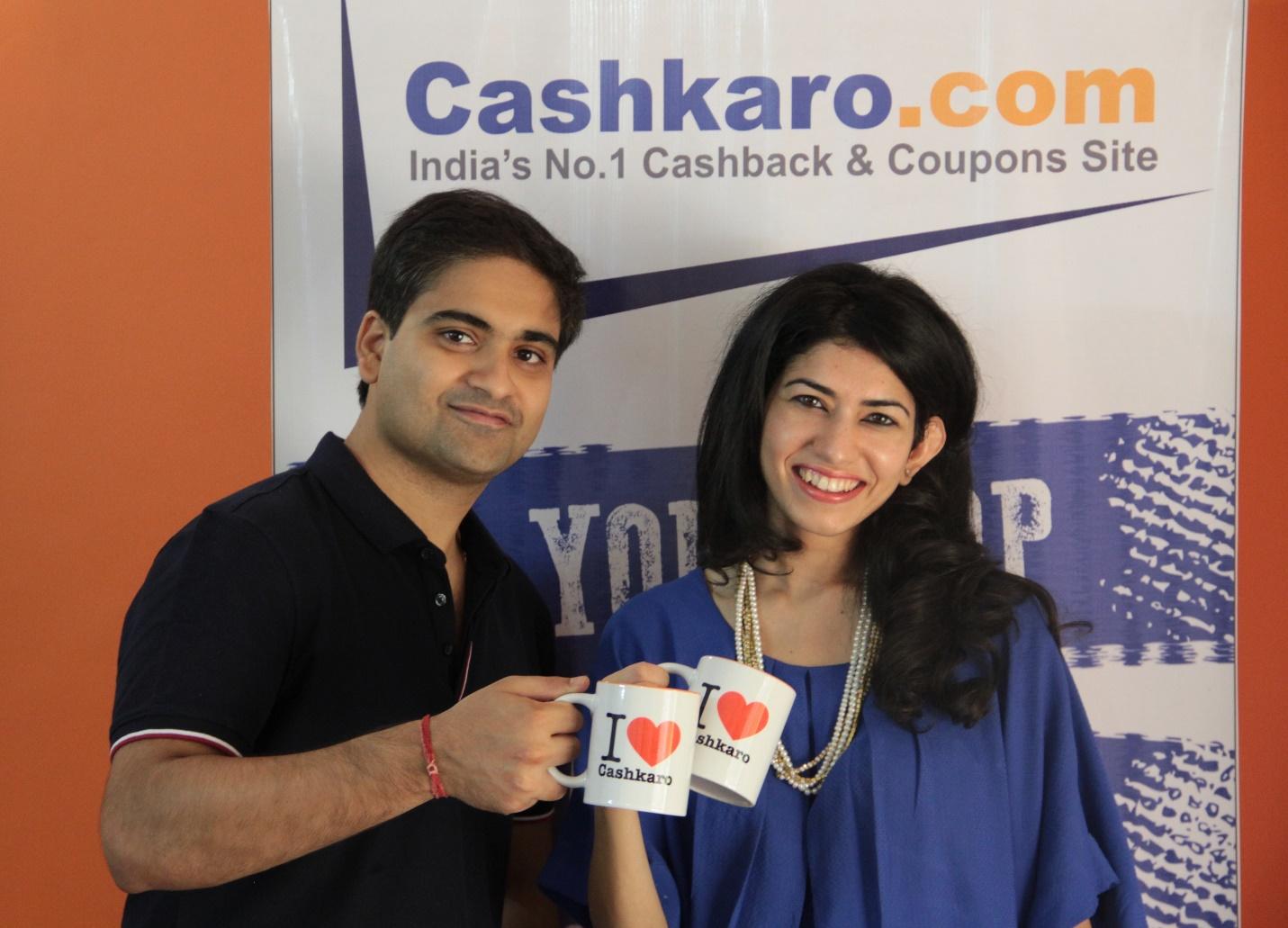 CashKaro founders Rohan and Swati Bhargava
