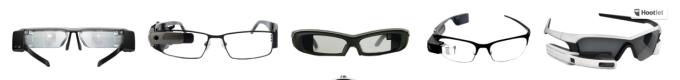 Assorted smart glasses