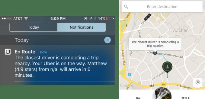 Uber Back To Back