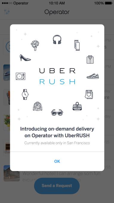 UberRush - TakeOver 1.2