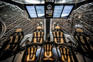 Inside the SpaceX Crew Dragon