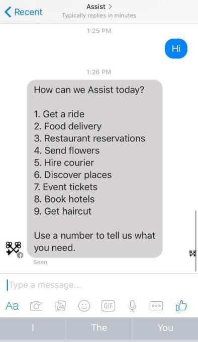 Facebook Assist