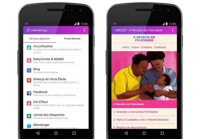 Facebook Free Basics App