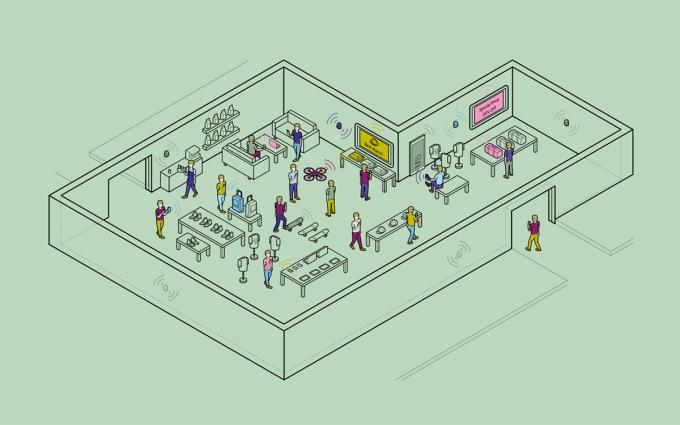 Future of retail by Estimote
