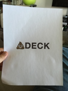 I guess it's better than my original name and logo for the company.