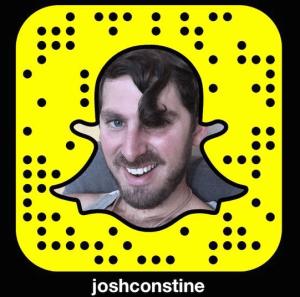Josh Constine Snapcode