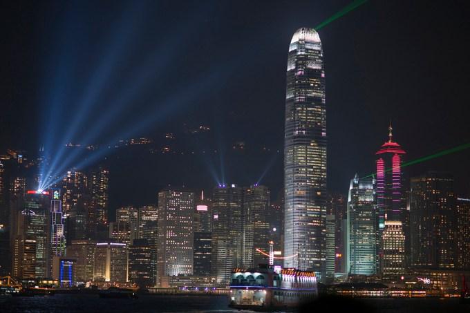 Night in Hong Kong. Photo Courtesy Flickr/Barbara Willi.