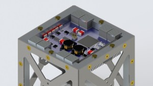 Multiple Accion thrusters on CubeSat / Image courtesy of Accion Systems