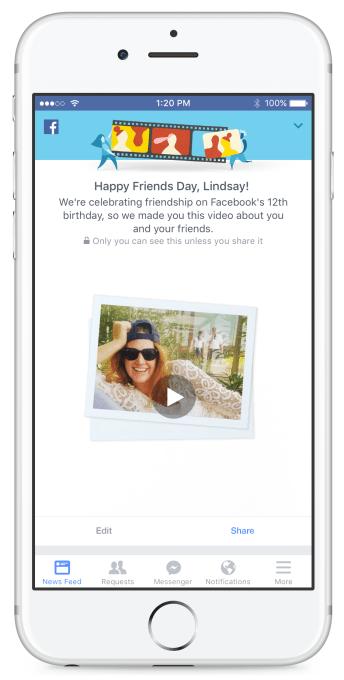 Friends Day Promo