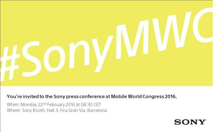 MWC 2016_Sony Press Conference Invitation (1)