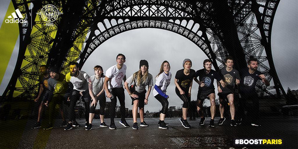 Boost Battle Run Paris by Adidas
