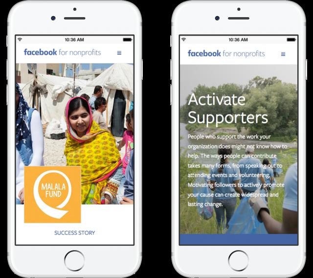 facebook non profit