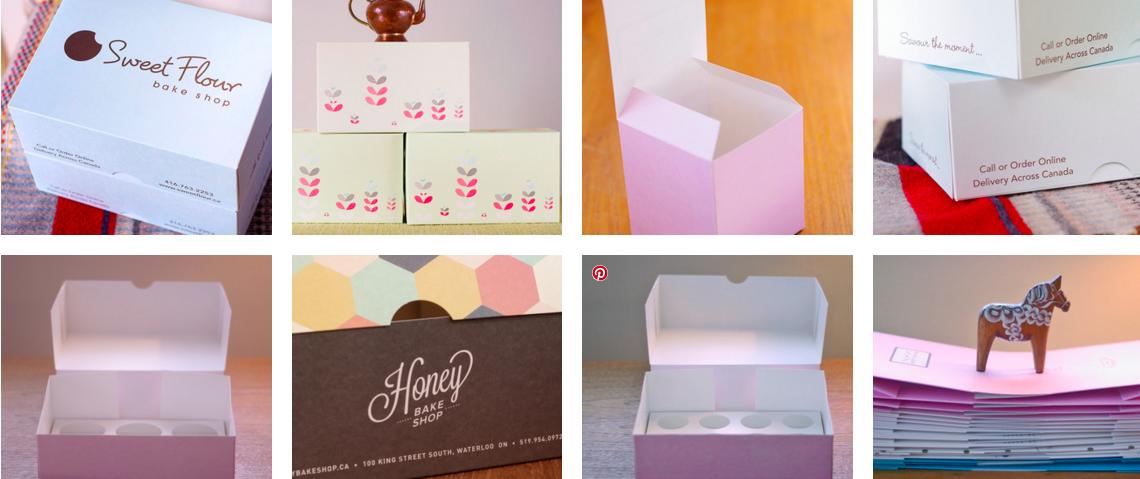 30 Georgette Packaging