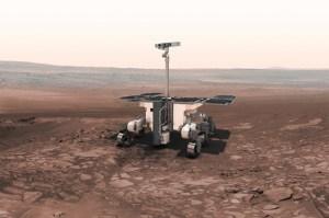 Illustration of ExoMars rover / Image courtesy of ESA