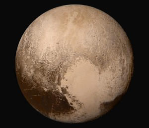 Image of Pluto taken by New Horizons camera / Image courtesy of NASA