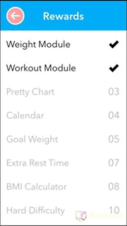 rewards weight module