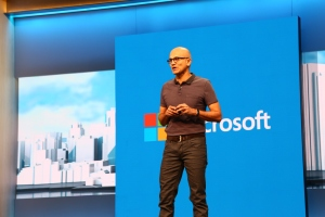 Satya spoke about new platforms and uses for Windows 10