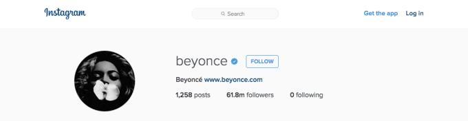 Beyonce Instagram