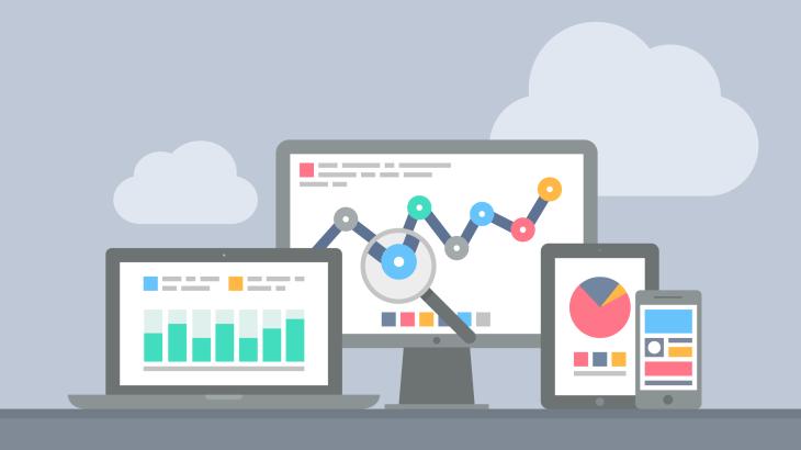 data analytics laptop desktop smartphone