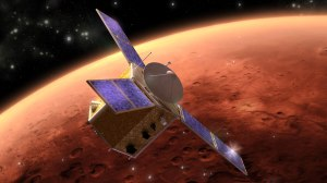 Illustration of Hope mission / Image courtesy of UAE Space Agency