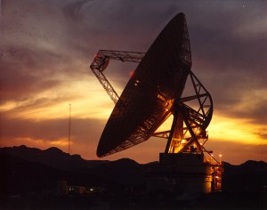 Goldstone Observatory, one of the DSN antennae in California, Image courtesy of NASA
